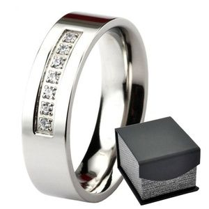 Other - Men's 6 mm Wedding Anniversary Flat Band CZ Ring